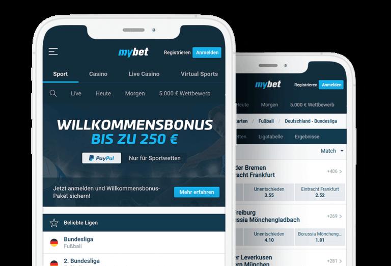 Mybet Willkommensbonus-Sportwetten Tipps heute und morgen Wett Tipps von Profis